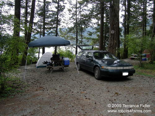 China Creek Camping Spot 50