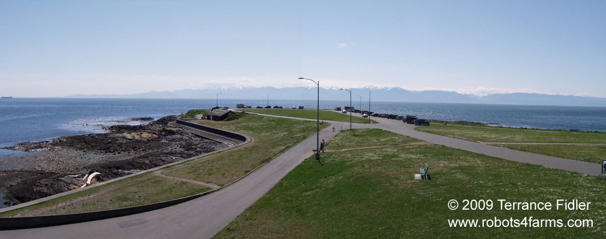 Clover Point - panoramic view