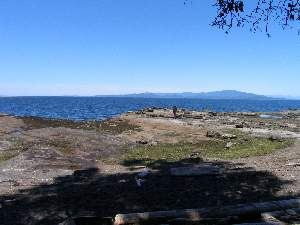 Mainland in distance